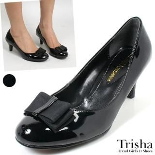 Buy Trisha Bow Front Patent Pumps 1022239539