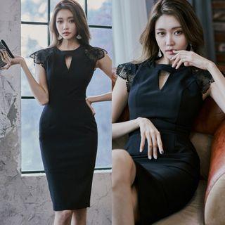 Sleeveless | Dress | Mini | Lace