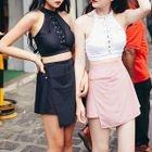 Set: Lace-Up Bikini + Skirt 1596
