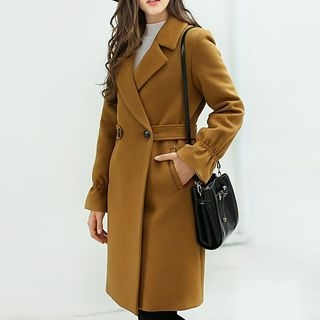 Notched Lapel Coat 1062068480