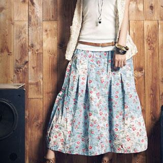 Buy PUFFY Floral Maxi Skirt 1023004175
