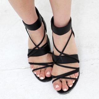 Buy Drama Cross Strap Sandals 1023032210