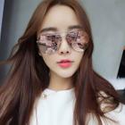 Mirrored Aviator Sunglasses 1596