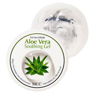 MCC - Aloe Vera Soothing Gel 200g 1596