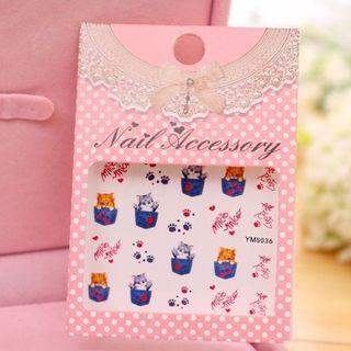 Nail Sticker YMS036 - One Size
