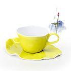 Set : Ceramic Cup + Plate 1596