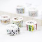 Set of 80 : Print Masking Tape 1596