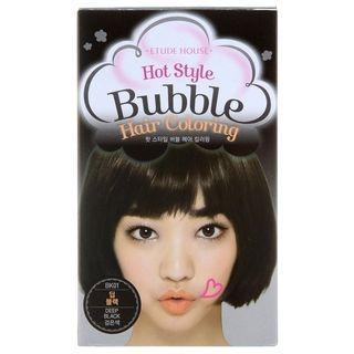 Etude House - Hot Style Bubble Hair Coloring BK01 Deep Black 1053683392
