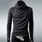 Cowl Neck Long-Sleeve T-Shirt 1596
