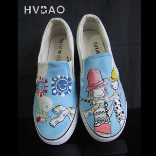 Picture of HVBAO Friendship Slip-Ons 1016480524 (Slip-On Shoes, HVBAO Shoes, Taiwan Shoes, Womens Shoes, Womens Slip-On Shoes)