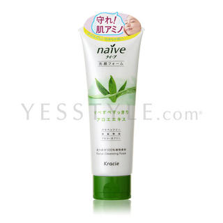 Kracie Naive Facial Cleansing Foam (Aloe)