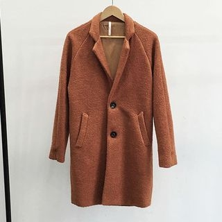 Notched Lapel Coat 1052941893