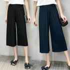 Chiffon Pleated Wide-Leg Pants 1596