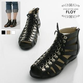 Buy FLOY SHOES Lace-Up Sandals 1023054452
