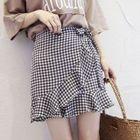 Ruffle A-line Skirt 1596