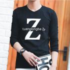 Long-Sleeve Print T-Shirt от YesStyle.com INT