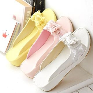 Picture of KAWO Bow Mules 1022892687 (Other Shoes, KAWO Shoes, China Shoes, Womens Shoes, Other Womens Shoes)