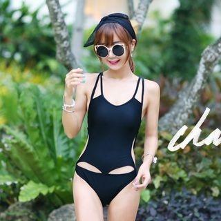 Lattice Cutout Swimsuit 1060905547
