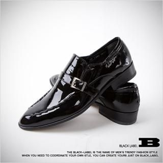 Picture of Style Impact Buckled Patent Loafers 1021165526 (Loafer Shoes, Style Impact Shoes, Korea Shoes, Mens Shoes, Mens Loafer Shoes)