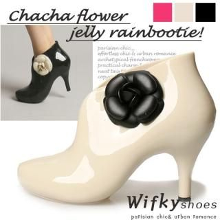 Picture of Wifky Jelly Ankle Boots 1022830472 (Boots, Wifky Shoes, Korea Shoes, Womens Shoes, Womens Boots)