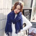 Cable Knit Scarf 1596