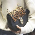 Faux-Leather Leopard-Print Cross Bag 1596