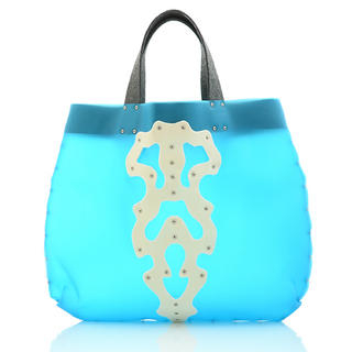 Duothic Jelly Tote Blue, Cream - One Size 1030768882