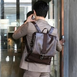 Buy MITOSHOP Faux Leather Backpack 1022187464