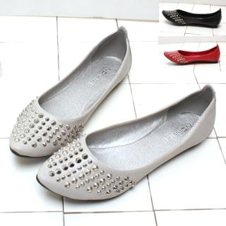 Picture of Woorisin Metal Studded Flats 1022076793 (Flat Shoes, Woorisin Shoes, Korea Shoes, Womens Shoes, Womens Flat Shoes)