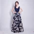 Sleeveless Lace Evening Gown 1596