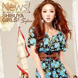 Buy Sylvia Zip Front Floral Print Dress 1022793510