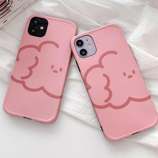 Image of Cloud Print Phone Case - iPhone 11 Pro Max / 11 Pro / 11 / SE / XS Max / XS / XR / X / SE 2 / 8 / 8 Plus / 7 / 7 Plus / 6s