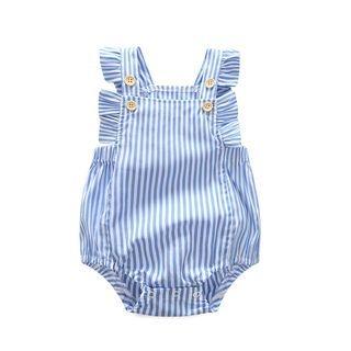 Baby Pinstripe Sleeveless Bodysuit