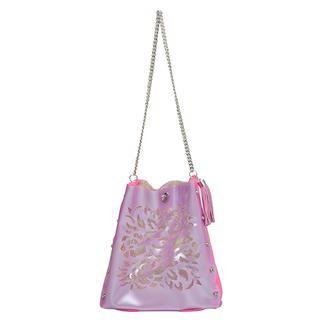 Oriental Crossbody Bag Light Purple & Pink