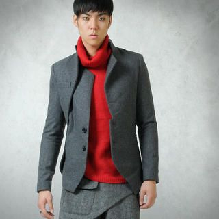 Picture of deepstyle Avant-Garde Wool Jacket 1021587740 (deepstyle, Mens Outerwear, Korea)