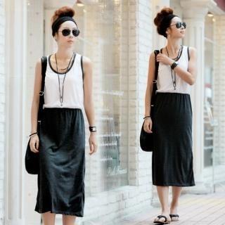 Buy MALL-LA Mock Two Piece Dress 1023036565