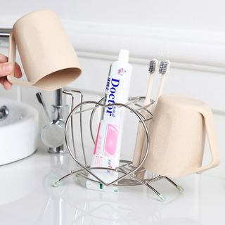 Stainless Toothbrush Cup Holder 1063742903