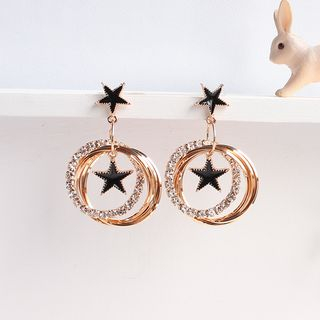 Rhinestone | Earring | Dangle | Hoop | Star