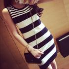 Striped Tank Dress 1596