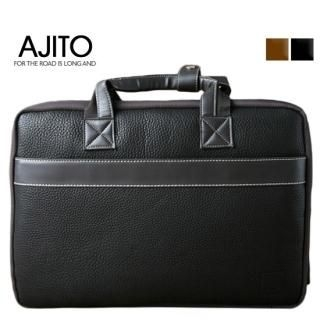 Picture of AJITO Faux-Leather Briefcase 1023042982 (AJITO, Briefcases, Korea Bags, Mens Bags, Mens Briefcases)