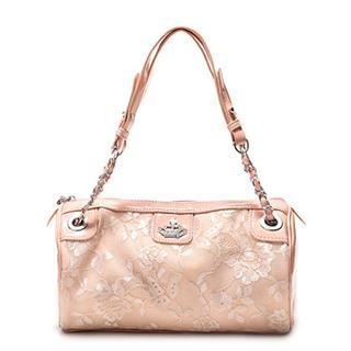 Buy Vemo Floral Print Handbag powder pink-one size 1022885299