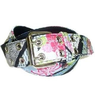 Picture of Aya Ori Shop Japanese Pattern Belt Black-One Size 1004828274 (Aya Ori Shop, Mens Belts, Japan)