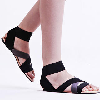 Buy KAWO Cross-Strap Sandals 1022917941