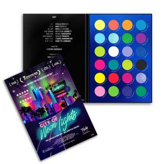Eyeshadow   Light   Neon   City