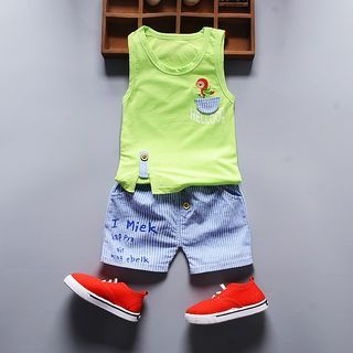 kids-set-tank-top-letter-shorts