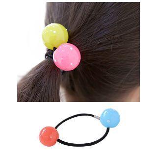 Dual-Ball Elastic Hair Tie 1054794542