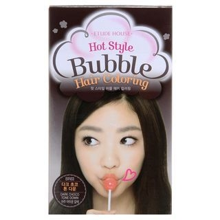 Etude House - Hot Style Bubble Hair Coloring BR03 Dark Choco Tone Down 1053683396