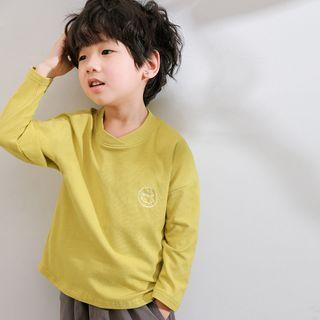 Long-sleeve | Embroider | T-Shirt | Kid