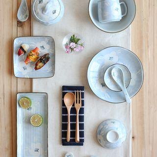 Floral Ceramic Plate / Bowl / Cup 1060529368