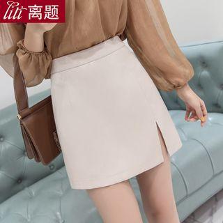 Chiffon   Skirt   Mini